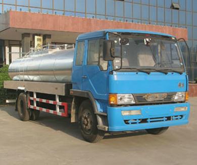 一汽液态食品运输车